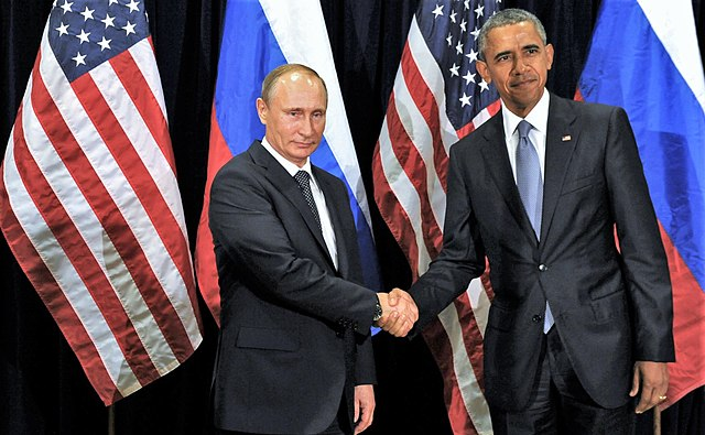 Putin and Obama in 2015