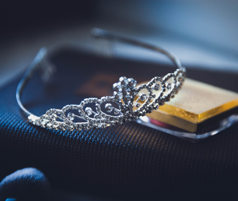 TIara on a table