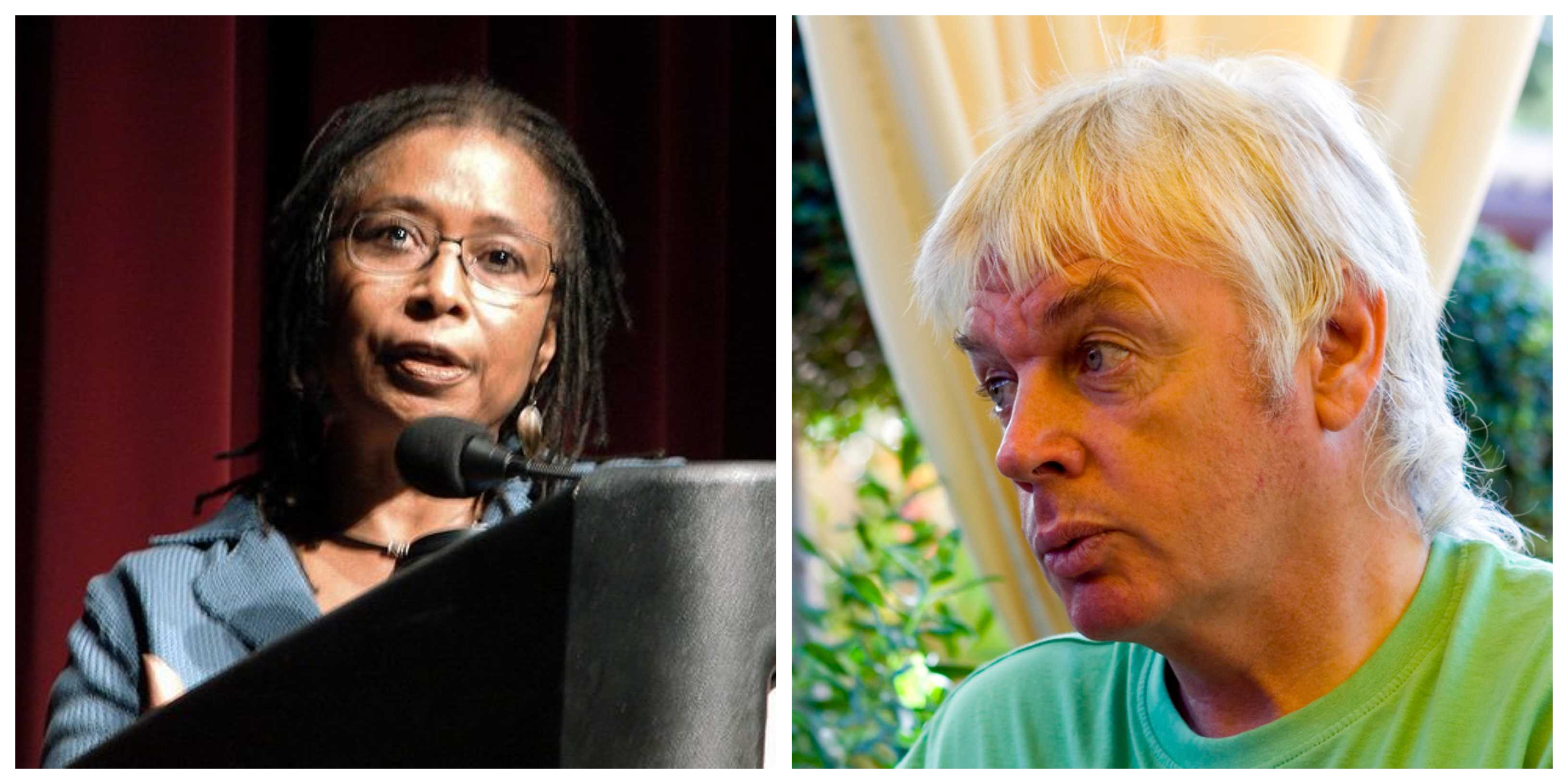 Antisemites Alice Walker, David Icke