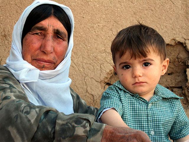 Kurdish refugees, Aleppo Syria