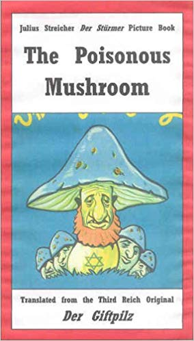"""Cover """"The Poisonous Mushroom"""" as sold on Amazon"""