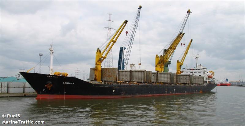 Iranian cargo ship, the Saviz
